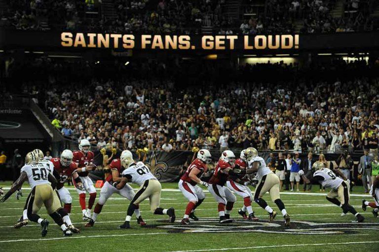 Saints Game Day |© NOTMC
