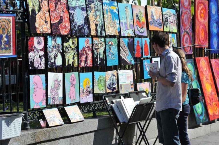 Art at Jackson Square |©NOCO