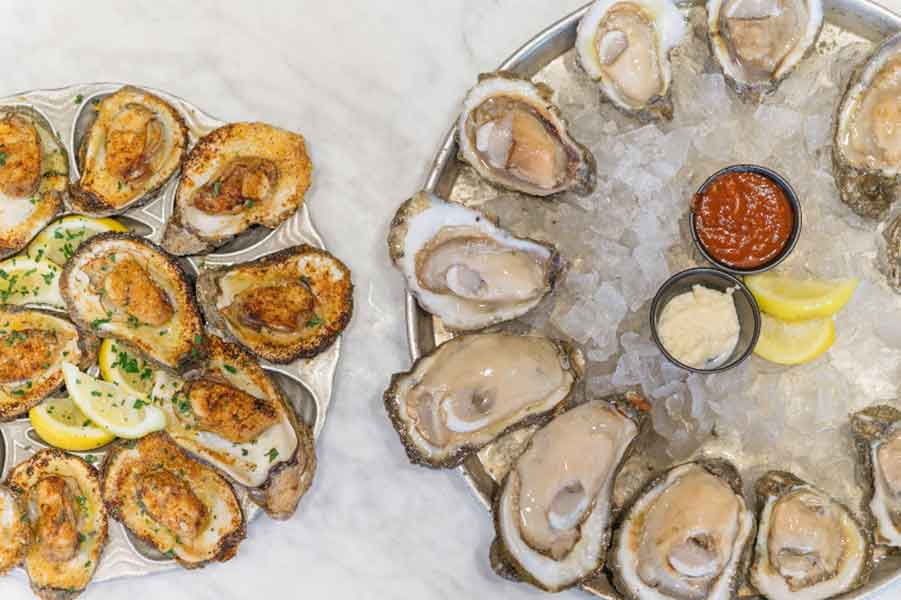 Dickie Brennan's Bourbon House Oysters