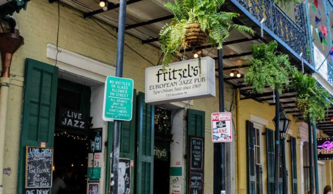 Fritzel's European Jazz Pub | Recebba Todd