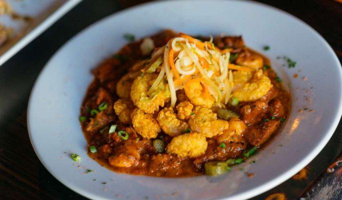 Fried Shrimp Creole - Galliano Restaurant |Paul Broussard