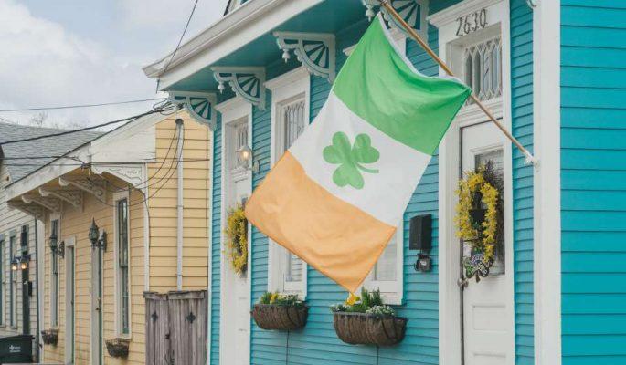Irish Channel St. Patrick's Day Color |©Cheryl Gerber