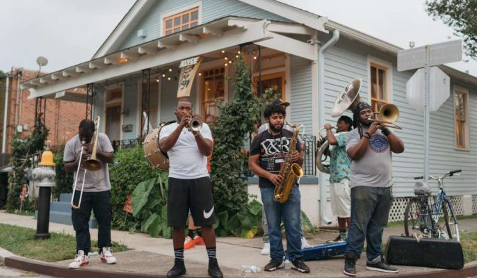 Brass Band at Suavage and Ponce De Leon - Jazz Fest After Parties |©Paul Broussard